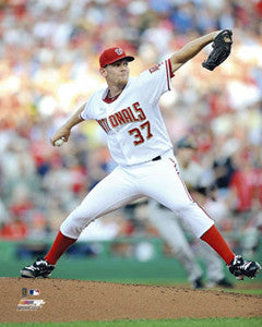 "Stephen Strasburg ""Revelation"" (2010) - Photofile 16x20"