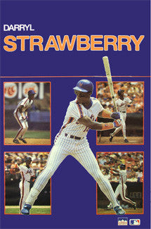 "Darryl Strawberry ""Five-Shot"" - Starline 1988"