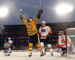 "Marco Sturm ""Winter Classic Winner"" (Fenway 2010) Boston Bruins Premium Poster - Photofile 16x20"
