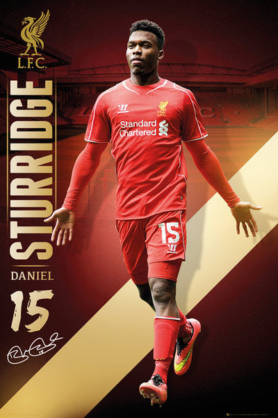Daniel Sturridge Liverpool FC Signature Series EPL Action Poster - GB Eye (UK)