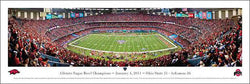 Sugar Bowl 2011 Panoramic Poster (Ohio State 31, Arkansas 26) - Blakeway