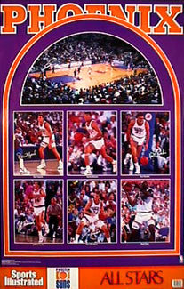 "Phoenix Suns ""All-Stars"" - Marketcom/SI 1990"