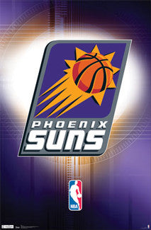 Phoenix Suns Official NBA Basketball Team Logo Poster - Costacos Sports