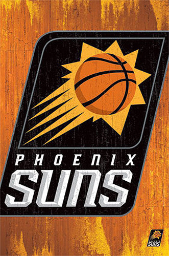 Phoenix Suns Official NBA Basketball Team Logo Poster - Trends International
