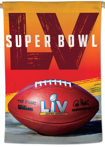 Super Bowl LV (Tampa 2021) Official NFL Championship Event 28x40 BANNER Flag - Wincraft Inc.