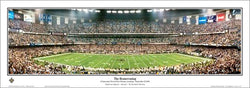 "Louisiana Superdome ""The Homecoming"" New Orleans Saints Panoramic Poster Print - Everlasting Images"