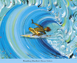 """Bombay Harbor"" (Steven Valiere) - Surfing Artists Int'l"
