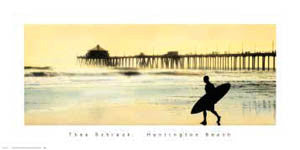 """Huntington Beach Silhouette"" - NYGS 2000"