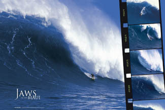 """Jaws"" (Dan Moore at Peahi, Maui) - Outer Reef 2006"