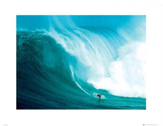 Tow-Surfing in Hawaii Gallery Print - GB Eye Inc.