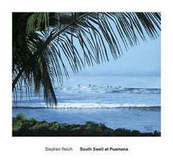 """South Swell at Puamana"" by Stephen Reigh - McGaw Graphics"