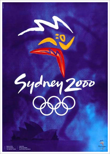 Sydney 2000 Summer Olympic Games Official Poster Reprint - Olympic Museum