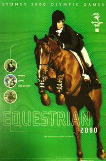 Sydney 2000 Equestrian Events Official Poster