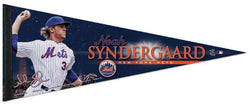 Noah Syndergaard Signature Series New York Mets Premium Felt Collector's Pennant - Wincraft Inc.