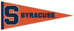 Syracuse Orange NCAA Team Logo Premium Felt Collector's Pennant - Wincraft Inc.
