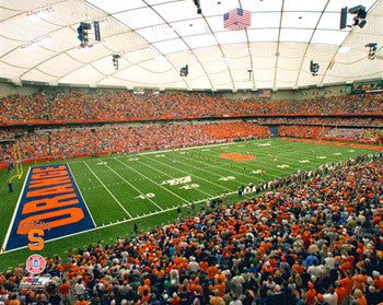 Syracuse Orange Football Carrier Dome Gameday Premium Poster Print - Photofile Inc.