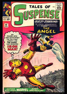 Tales of Suspense #49 (Iron Man vs. The Angel) Marvel Comics Official Cover Poster Print