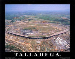 "Talladega Superspeedway ""From Above"" Poster Print - Aerial Views 2001"