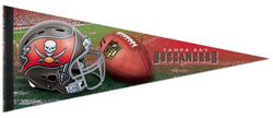 Tampa Bay Bucs Helmet-Style Official NFL Premium Felt Pennant - Wincraft