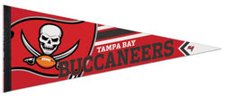 Tampa Bay Buccaneers Logo-Style Official NFL Premium Felt Pennant - Wincraft