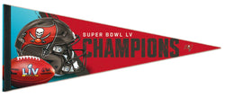 Tampa Bay Buccaneers Super Bowl LV (2021) Champions Premium Felt Collector's Pennant - Wincraft Inc.
