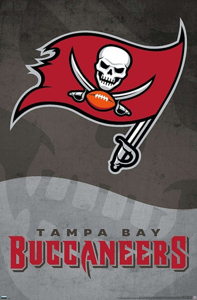 Tampa Bay Buccaneers Official NFL Football Team Logo Poster - Trends International