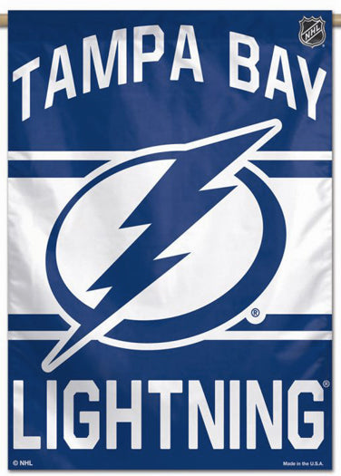 Tampa Bay Lightning Official NHL Hockey Team Premium 28x40 Wall Banner - Wincraft Inc.