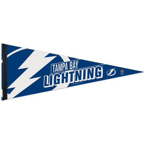 Tampa Bay Lightning Official NHL Hockey Logo-Style Premium Felt Pennant - Wincraft Inc.