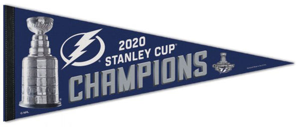 Tampa Bay Lightning 2020 NHL Stanley Cup Champions Premium Felt Pennant - Wincraft Inc.