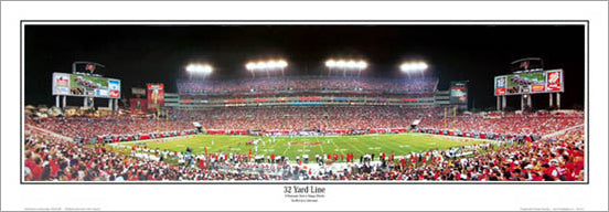 "Tampa Bay Bucs ""32 Yard Line"" Raymond James Stadium Panorama - Everlasting Images"
