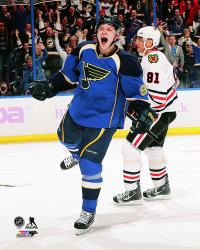 "Vladimir Tarasenko ""Goal!"" St. Louis Blues Hockey Premium Poster Print - Photofile 16x20"