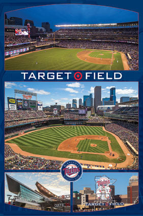 Minnesota Twins Target Field Celebration Official Poster - Trends International