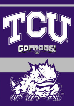 TCU Horned Frogs Premium Banner - BSI Products