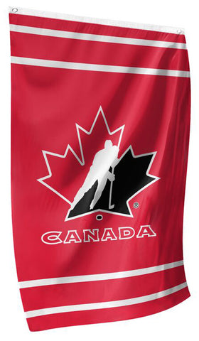 Team Canada Hockey 3'x5' Official Team Banner FLAG - The Sports Vault