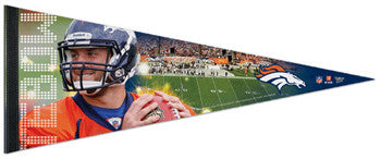 "Tim Tebow ""Gameday"" Premium Felt Pennant LE /1000 - Wincraft Inc."