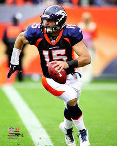 "Tim Tebow ""Scramble"" (2011) Denver Broncos Premium Poster Print - Photofile 16x20"