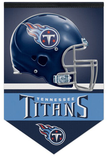 Tennessee Titans Official NFL Football Premium Felt Banner - Wincraft Inc.