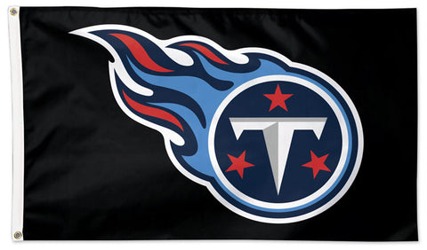 Tennessee Titans Official NFL Football 3'x5' Deluxe-Edition Flag - Wincraft Inc.
