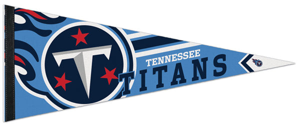 Tennessee Titans NFL Logo-Style Premium Felt Collector's Pennant - Wincraft Inc.