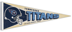 Tennessee Titans NFL Retro-Style Premium Felt Collector's Pennant - Wincraft Inc.
