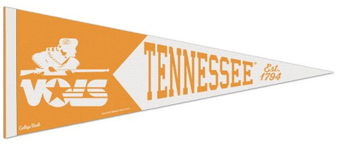 Tennessee Volunteers NCAA College Vault 1980s-Style Premium Felt Collector's Pennant - Wincraft Inc.