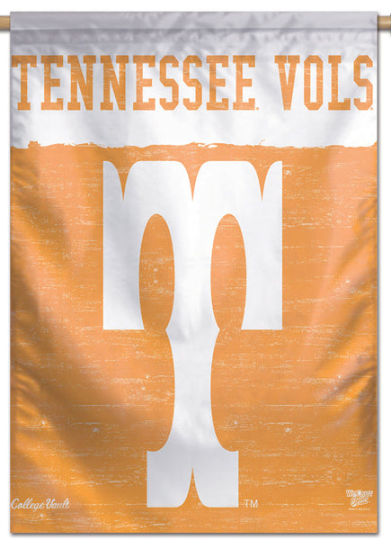 Tennessee Vols NCAA College Vault Series 1950s-Style Official NCAA Premium 28x40 Wall Banner - Wincraft Inc.