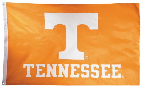Tennessee Vols Official NCAA Premium Nylon Applique 3'x5' Flag - BSI Products Inc.