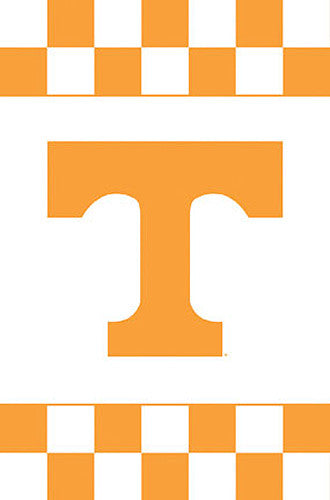 "Tennessee Vols ""Checkers"" Official NCAA Team Logo Poster - Costacos Sports"