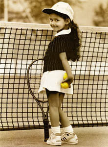 """The Champion"" (Tennis Girl) by Kim Anderson - WG 2003"