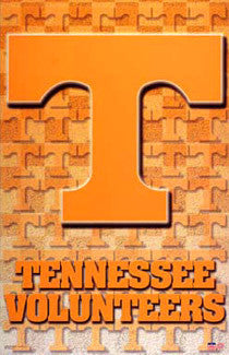 Tennessee Volunteers NCAA Team Logo Poster - Starline Inc.
