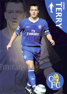 "John Terry ""Chelsea Star"" Chelsea FC Poster - GB Posters 2004"