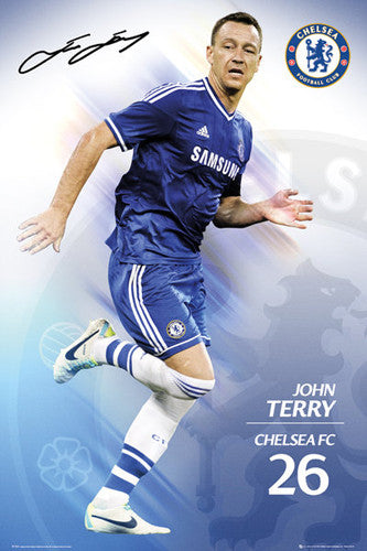 "John Terry ""Signature"" Chelsea FC Official Action Poster - GB Eye (UK)"