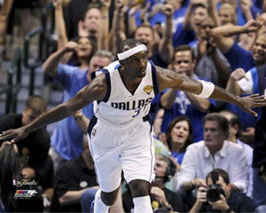 "Jason Terry ""In Flight"" Dallas Mavericks 2011 NBA Finals Premium Poster Print - Photofile 16x20"