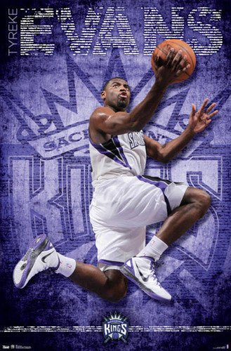 "Tyreke Evans ""Court King"" Poster - Costacos 2012"